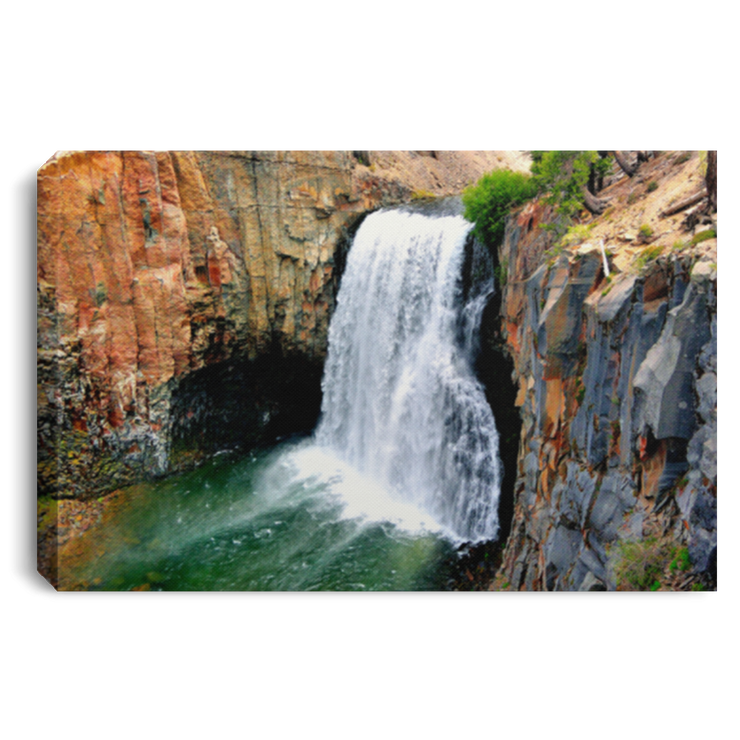 Canvas Print Rainbow Falls 11 White / 12 x 8 Canvas Print