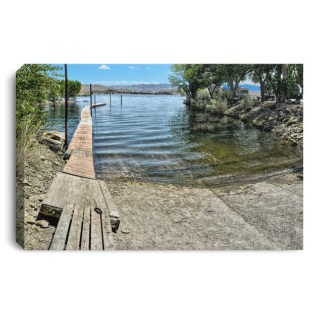"Canvas Print ""Boat Ramp"""