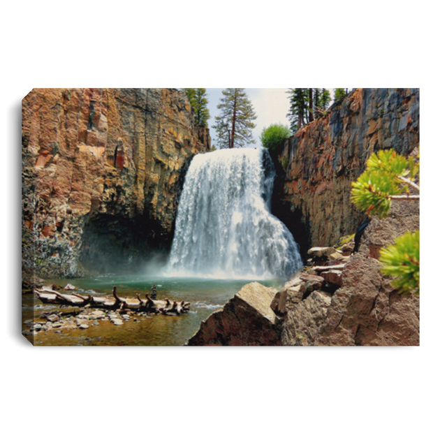 Canvas Print Rainbow Falls 15 White / 12 x 8 Canvas Print (1957887836260)