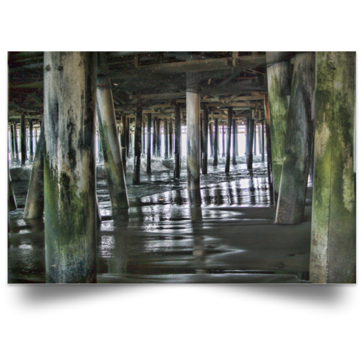 Satin Poster Under the Pier 1 White / 18 x 12 Poster (2827976999012)