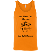 3480 Bella + Canvas Unisex Tank God Bless This Workout 14 colors/6 Sizes Tank Top