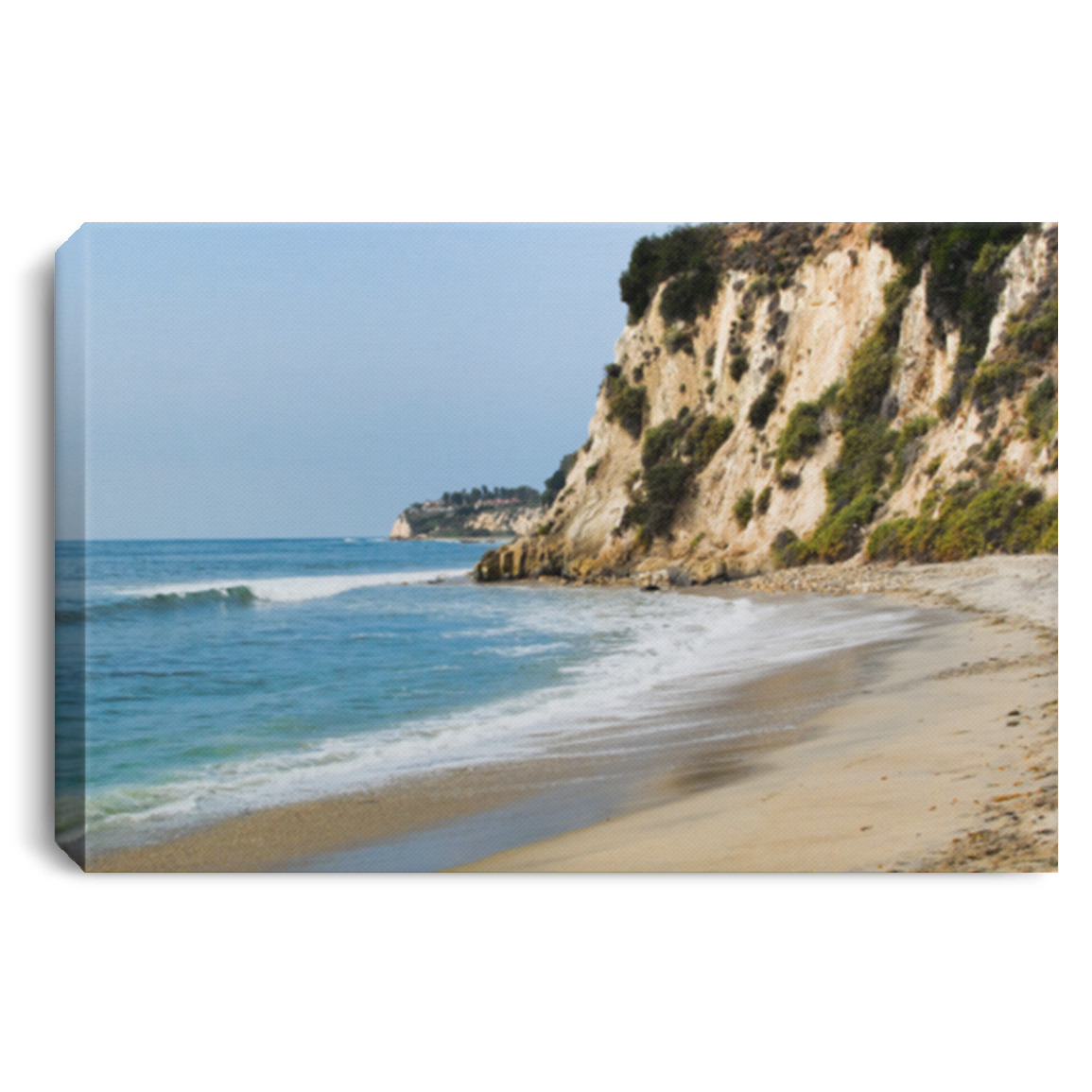 Canvas Print The Cove White / 12 x 8 Canvas Print (2137271074916)