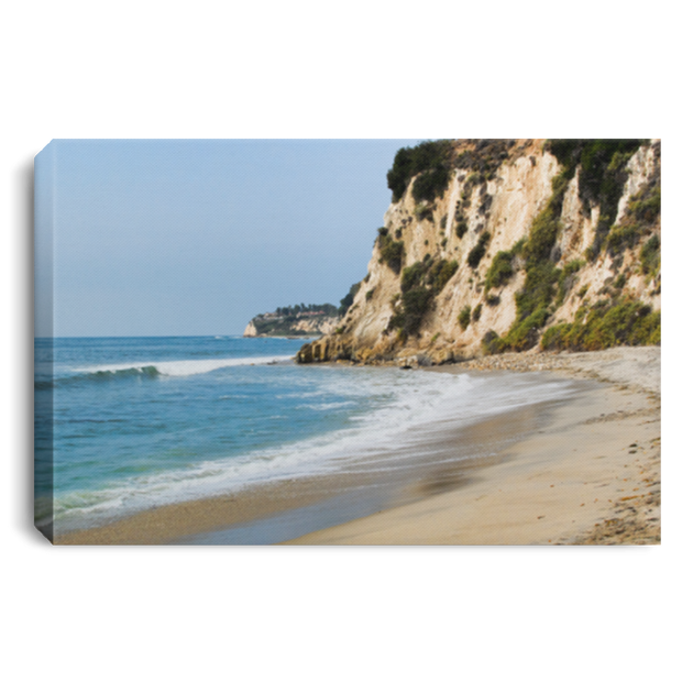 Canvas Print The Cove White / 12 x 8 Canvas Print