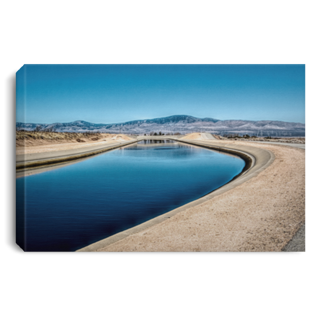 Canvas Print Aqueduct White / 12 x 8 Canvas Print (3054011449444)