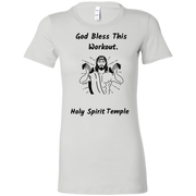6004 Bella + Canvas Ladies Favorite T-Shirt Bless This Workout 12 Colors/5 sizes T-Shirts (2953791111268)