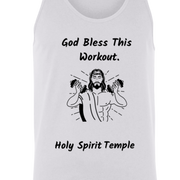3480 Bella + Canvas Unisex Tank God Bless This Workout 14 colors/6 Sizes Tank Top (2953798582372)