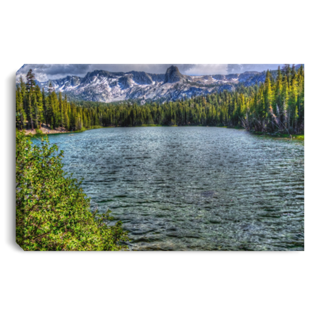 Canvas Print Lake Mamie White / 12 x 8 Canvas Print (1999055585380)