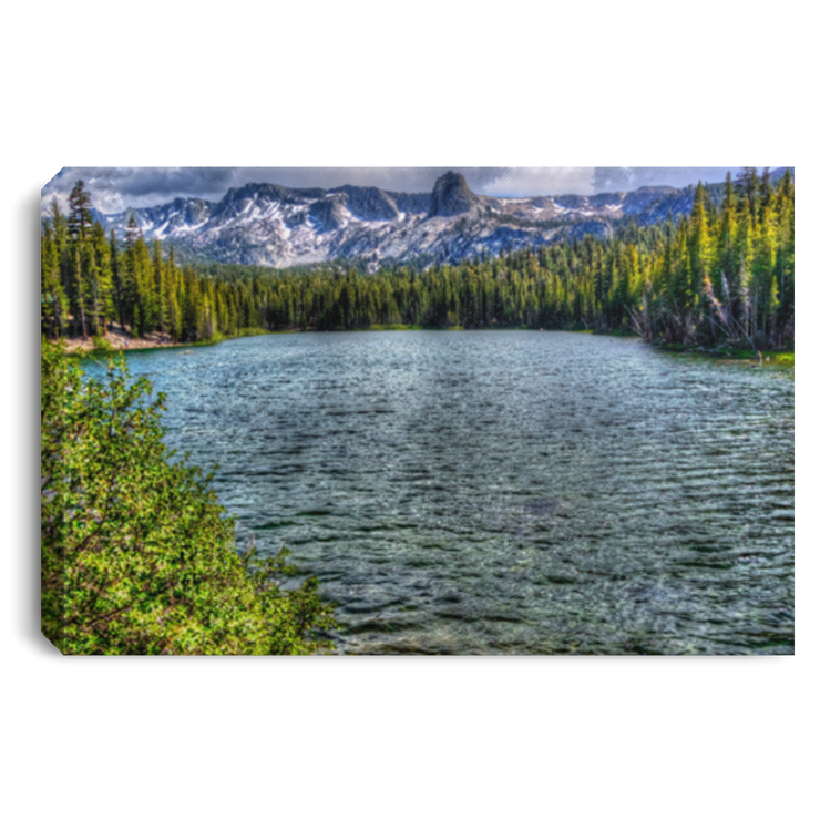 Canvas Print Lake Mamie White / 12 x 8 Canvas Print