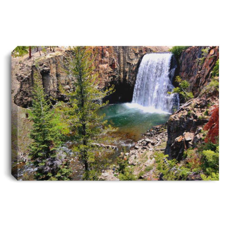 Canvas Print Rainbow Falls 1 White / 12 x 8 Canvas Print