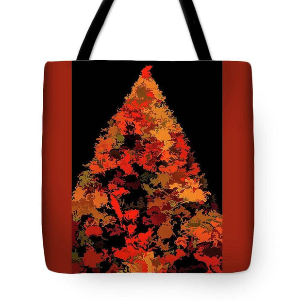 Tote Bag - Autumn Christmas Tree