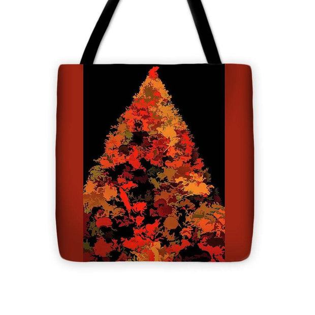 Tote Bag - Autumn Christmas Tree (4310875537502)
