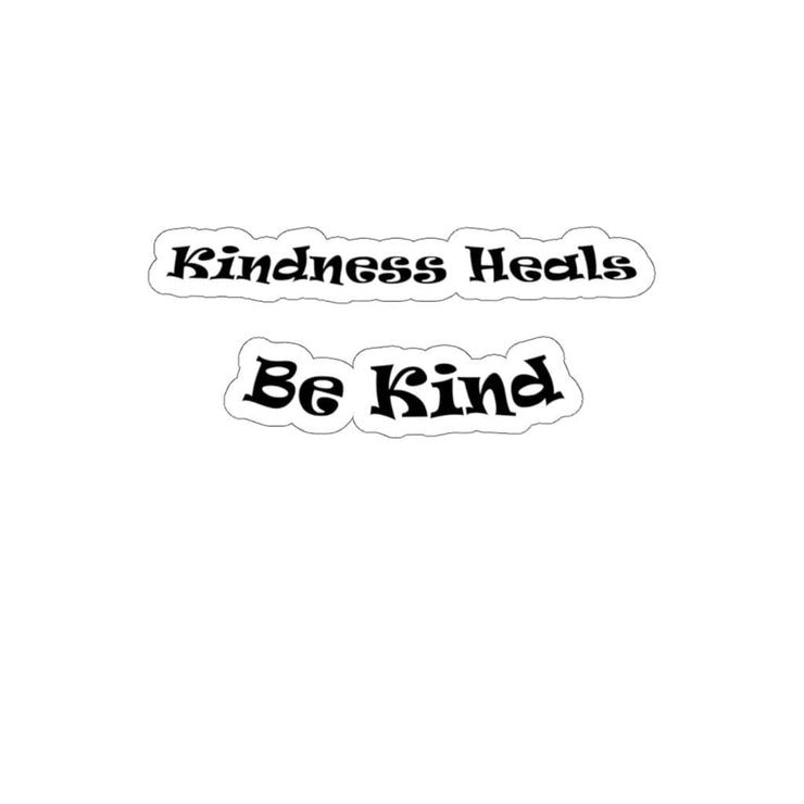 "Kiss-Cut Stickers ""Be Kind"" in 4 Sizes (4478512332894)"