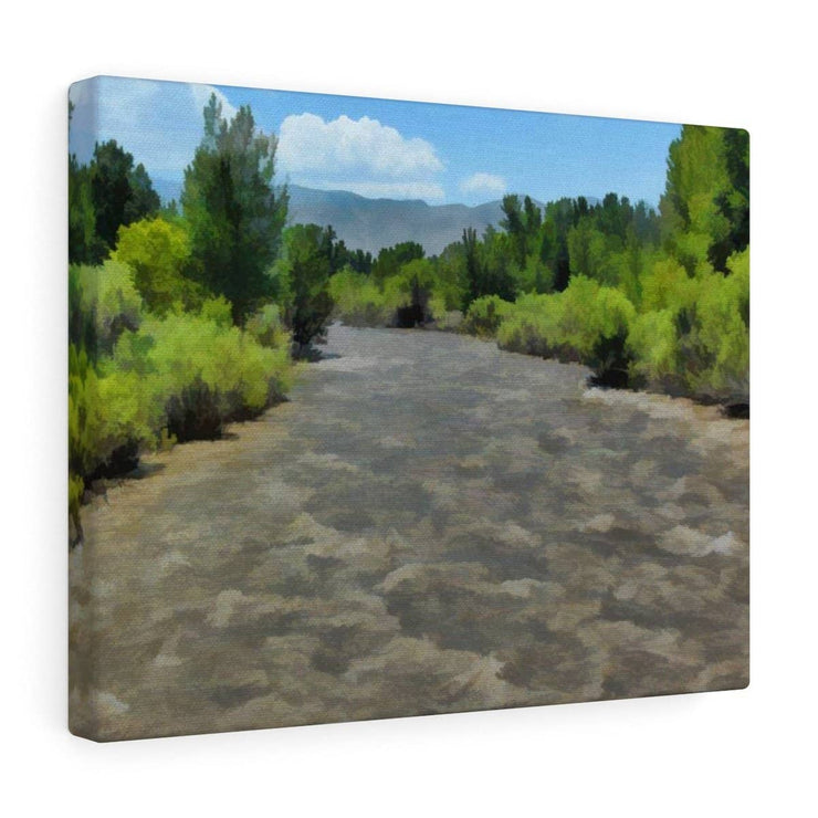 "Canvas Gallery Wraps ""West Walker River"" in 5 Sizes"