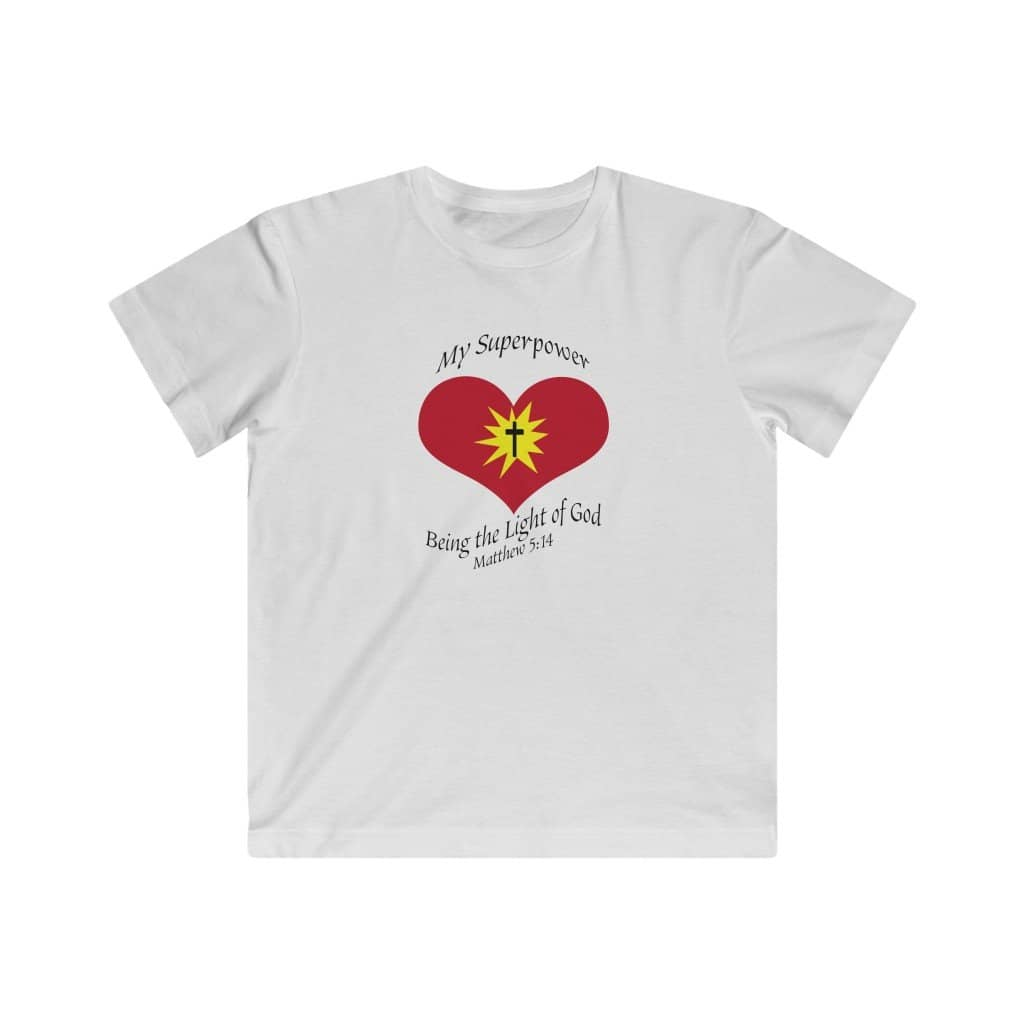 "Kids LAT Apparel Tee ""Superpower"" (4366834827358)"