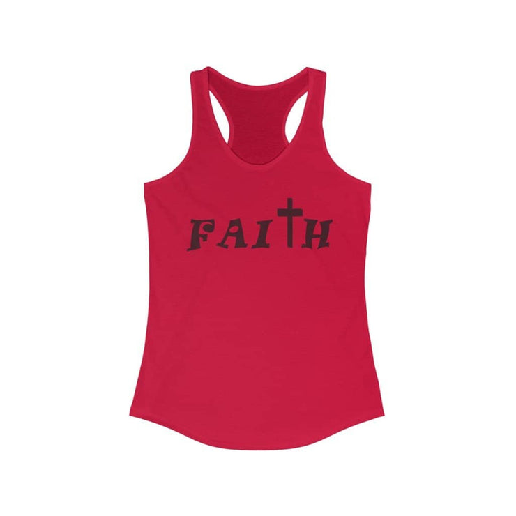 "Next Level Ideal Racerback Tank ""Faith"" 2 (4623556575326)"