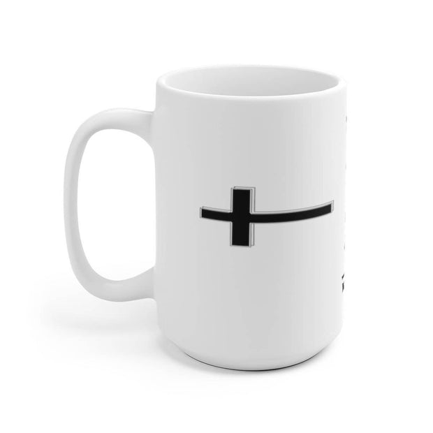 White Ceramic Mug 11oz or 15 oz Always Pray at 110% Mug
