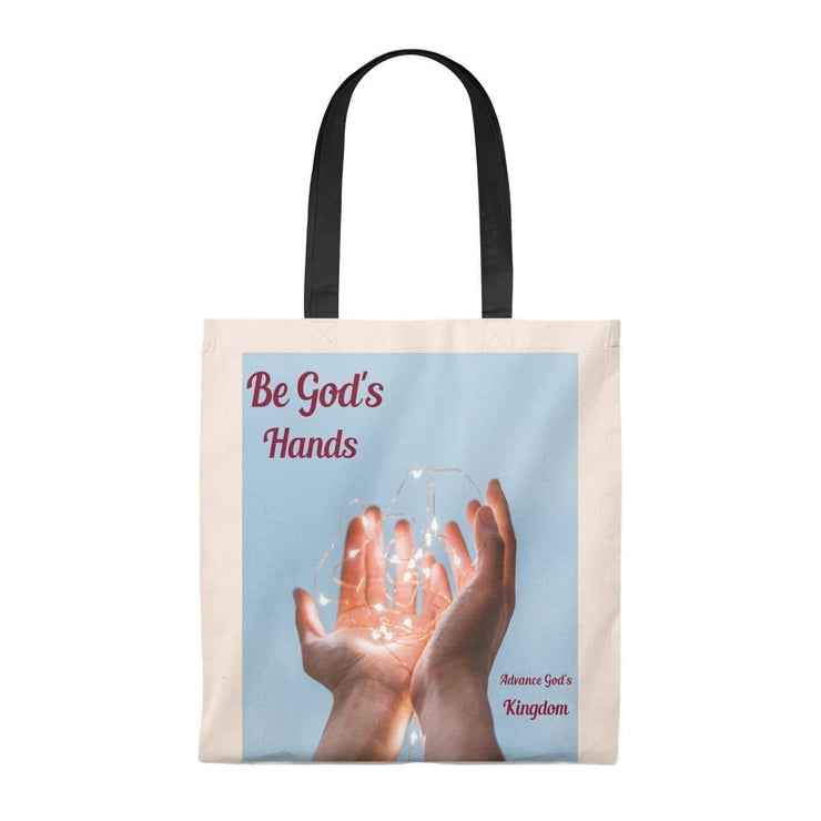 Tote Bag - Vintage Be Gods Hands Bags (3117241466980)