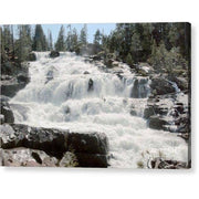 "Acrylic Print """"Glen Alpine Falls White Water"""