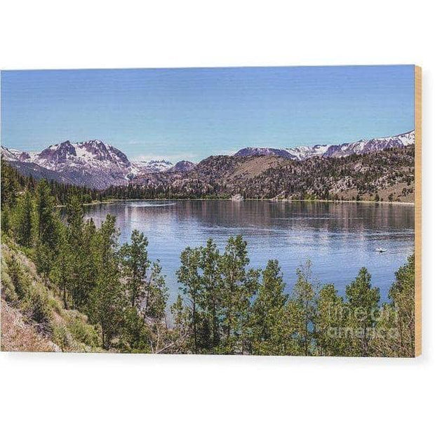 Wood Print June Lake 10.000 x 6.000 Wood Print