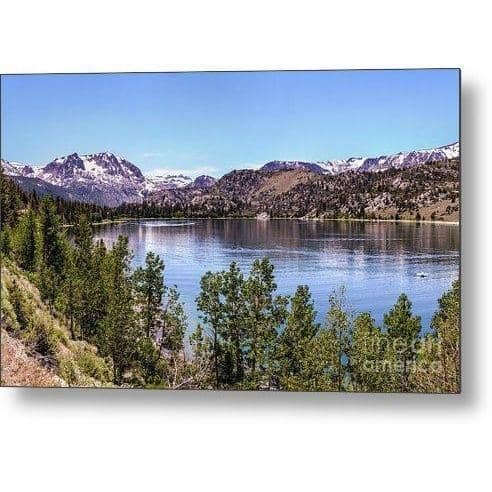 Metal Print June Lake 10.000 x 6.000 Metal Print