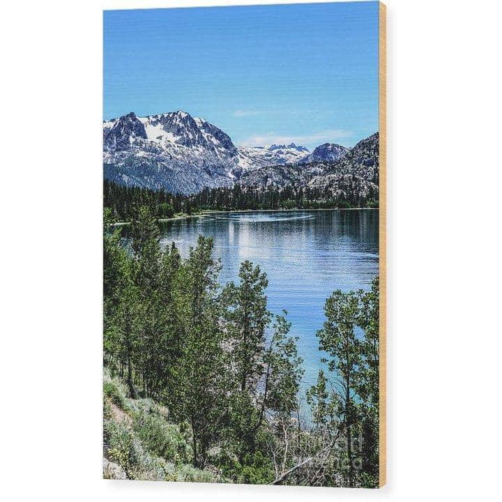 Wood Print June Lake Portrait 6.625 x 10.000 Wood Print (2918604931172)