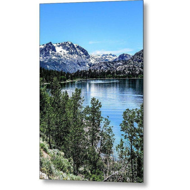 Metal Print June Lake Portrait 6.625 x 10.000 Metal Print