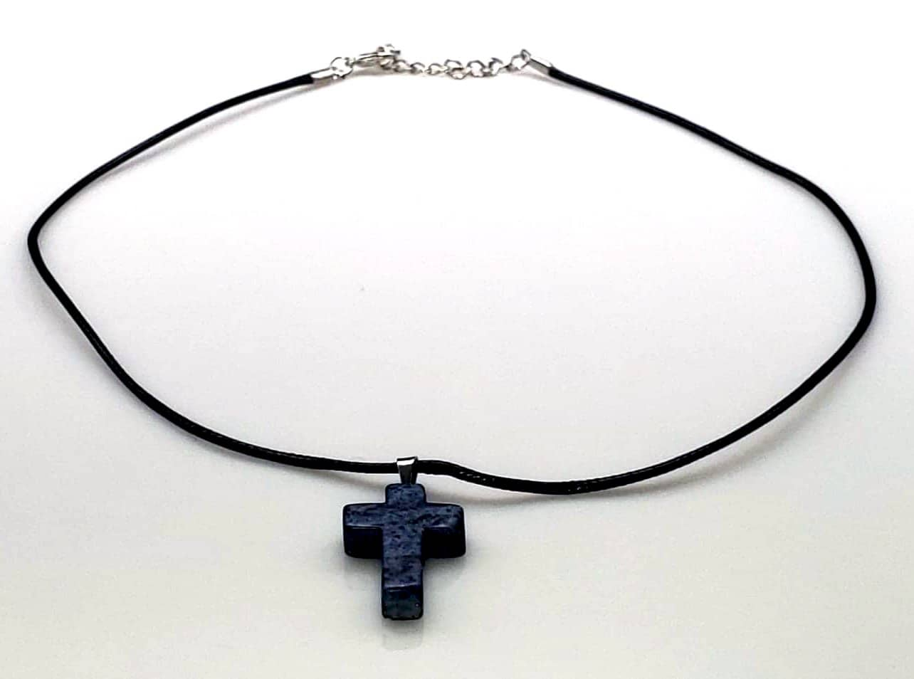 Lapis (Enhanced) Gemstone Necklace (6086122832064)
