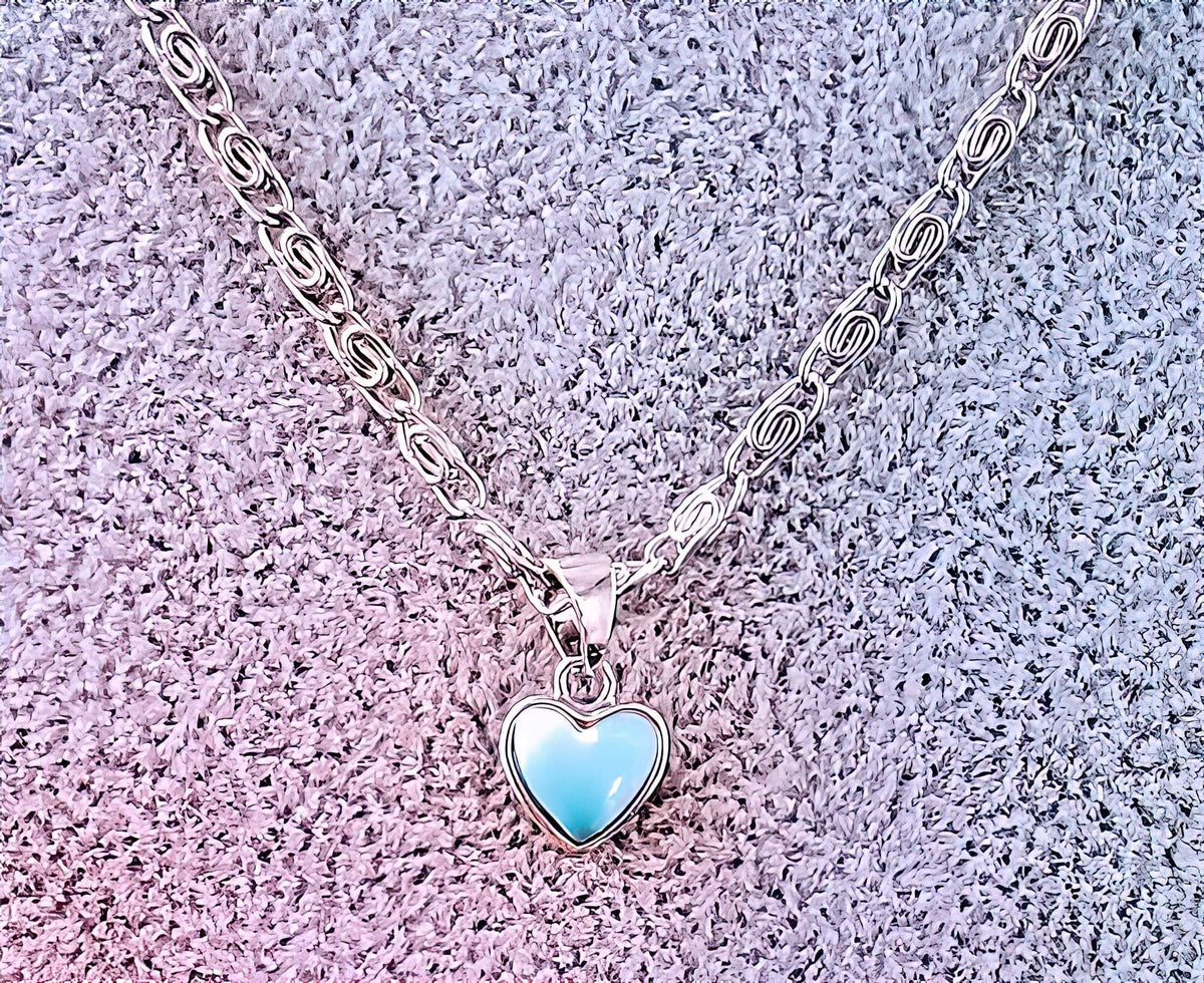 Heart Shaped Larimar