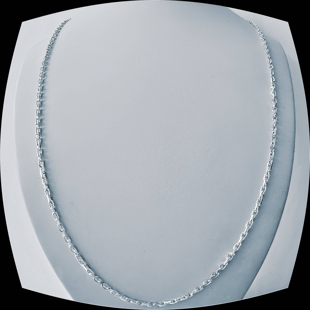 Italian Made Mariner Link Chain 080-3.0MM  .925 SOLID Sterling Silver Necklace (4589169770590)