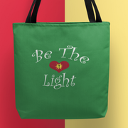 "AOP Tote Bag ""Be the Light"" in 3 Sizes"