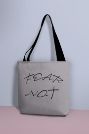 "AOP Tote Bag ""Fear Not"" in 3 Sizes"