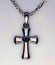 White Opal Cross (4635161886814)