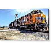 Acrylic Print Portrait Of A Train Acrylic Print