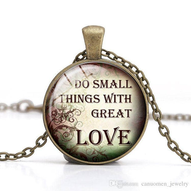 Bible Quote Necklace 6 Different Quotes - Free Shipping from the USA (3930746191966)