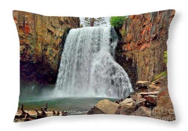 Throw Pillow Rainbow Falls 10 20 x 14 / No Throw Pillow