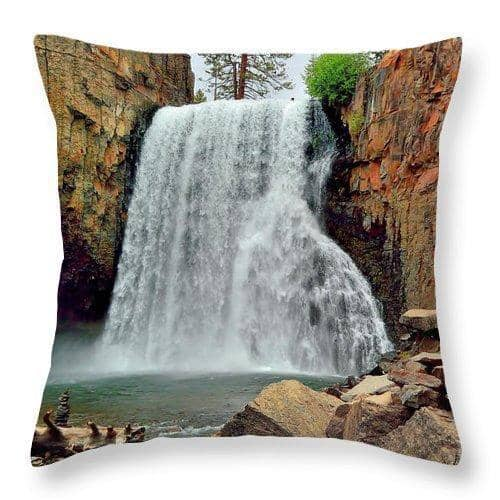 Throw Pillow Rainbow Falls 10 Throw Pillow