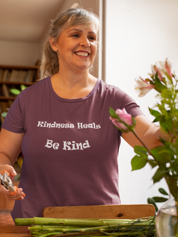 "Short Sleeve Tee Bella & Canvas ""Kindness"" in 12 Colors and 7 Sizes (4488982003806)"