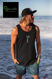"Bella & Canvas 3480 Jersey Tank ""Jesus"" in 18 Colors and 6 Sizes (3489658175588)"