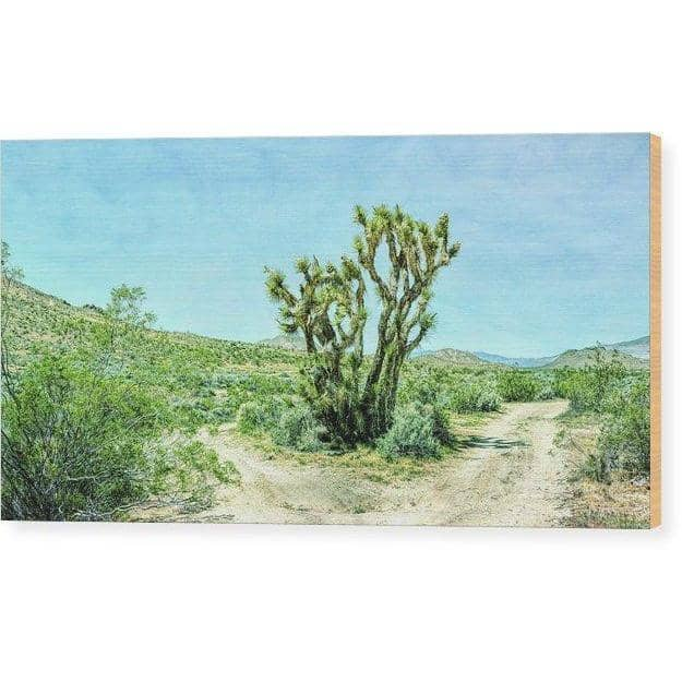 Wood Print The Joshua Tree 12.000 x 6.250 Wood Print (2725135024228)