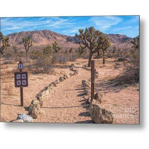 "Metal Print ""Trailhead"""