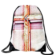 The Cross Bag in 5 Colors Free Shipping! Drawstring Bag