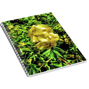 "Spiral Notebook ""Yellow Flower"" (120 pages)"