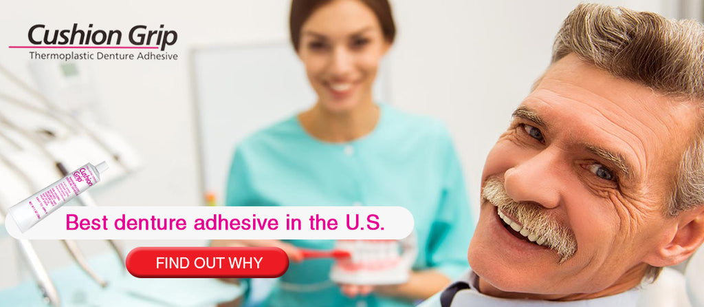 4 Reasons to Purchase Cushion Grip Denture Adhesive