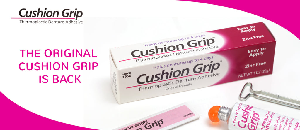 Relaunch of Cushion Grip