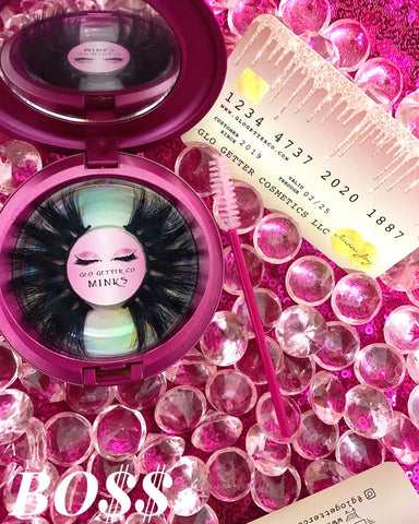 BO$$ LASHES 25mm - Glo Getter Cosmetics