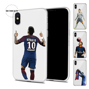 Messi Shirt - iPhone hoesje transparant