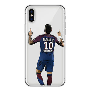 Neymar No.10- iPhone hoesje transparant