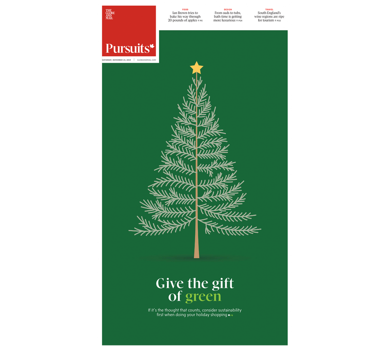The Globe and Mail: Give The Gift of Green