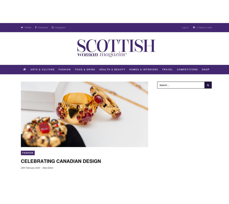 Scottish Woman Magazine: Celebrating Canadian Design
