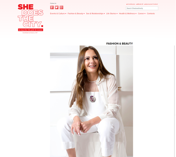 She Does The City: Interview with Hania Kuzbari